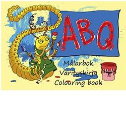 ABQ Aakkos värityskirja