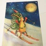 talvinen postikortti